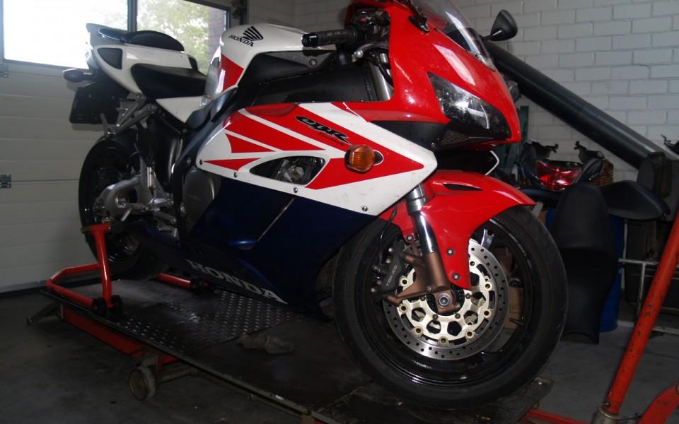 Motorfiets Werkplaats